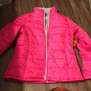 Jackets & Blazers - NWT pink puffer jacket